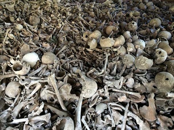 Imagen representativa de varios huesos humanos en un pozo. (CC0)
