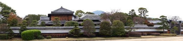 La lujosa antigua residencia del clan samurai Hosokawa en la ciudad de Kumamoto, Japón. (Motoki-jj / CC BY-SA 3.0)