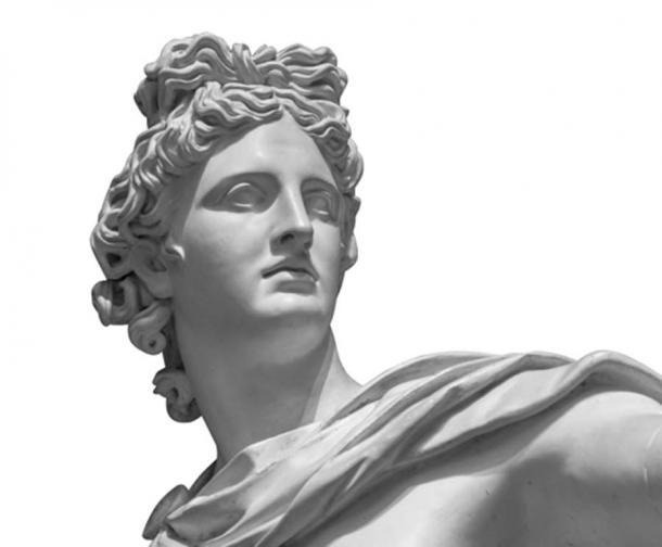 Retrato de una estatua de yeso del dios Apolo (Ruslan Gilmanshin / Adobe Stock)