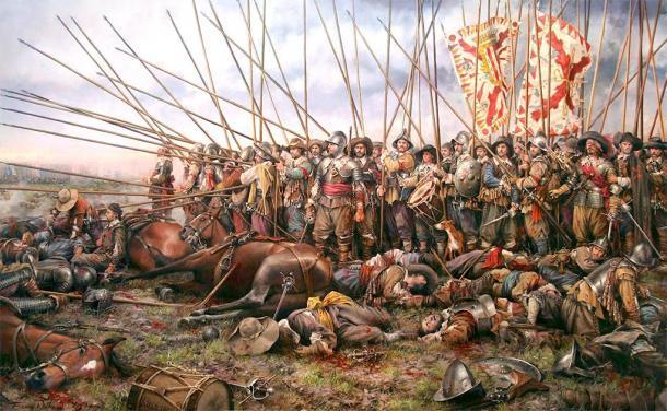 La batalla de Rocroi fue el fin del dominio del imperio español en Europa. (Soerfm / / CC BY-SA 3.0)