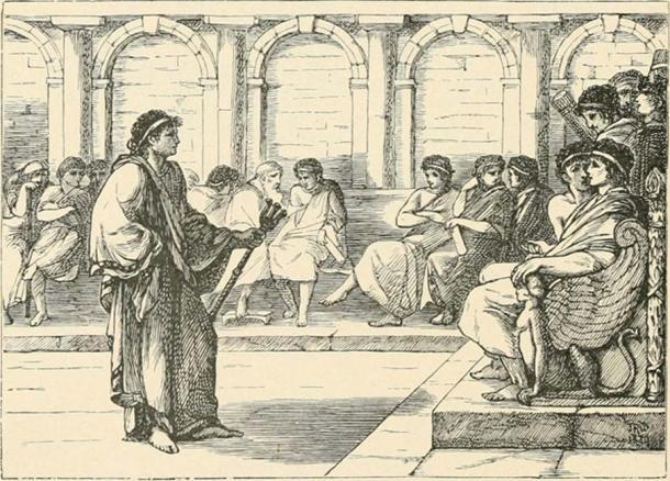 Cónsul Romano en Negociaciones. (Biblioteca Pública de Nueva York / Dominio público)