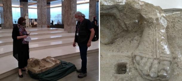 La piedra romana ahora está segura en el Museo Nacional de Belgrado. (Museo Nacional de Belgrado)