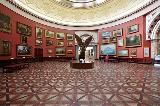La sala redonda, que se puede ver en el recorrido virtual del museo en línea. (Museo de Birmingham y Galería de Arte / CC BY-NC-SA 2.0)