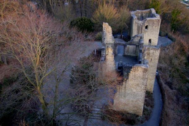 Ruina del castillo de Hohensyburg, en el sitio de Sigiburg. (Erich Ferdinand / CC BY 2.0)