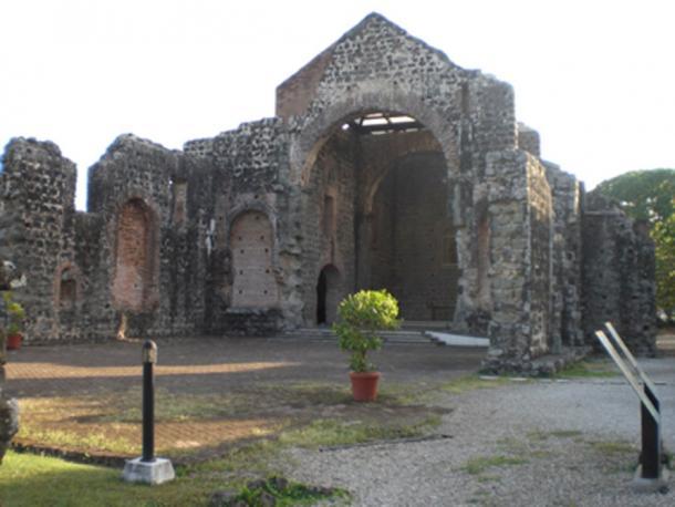 Ruinas de la iglesia en Panamá Viejo (Mayer, K / CC BY 2.0)