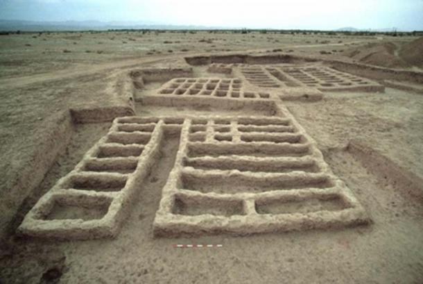 Ruinas de Mehrgarh. (M. Thoury y otros / CC BY 4.0)