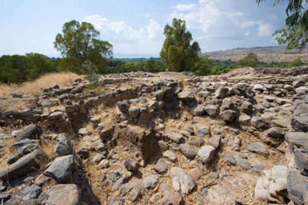 Ruinas en Bethsaida donde se ha encontrado la Puerta de la Ciudad. ( Robert Hoetink / Adobe Stock)