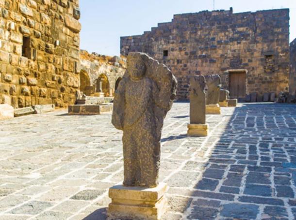 Ruinas de la antigua ciudad de Bosra (siempreverde22/ Adobe Stock)