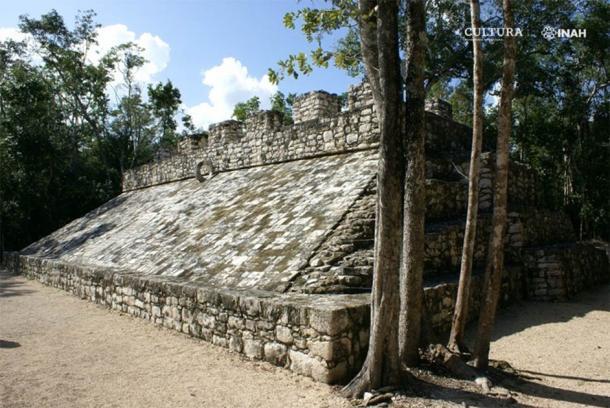Parte de las ruinas de Cobá en Quintana Roo, México. (Mauricio Marat / INAH)