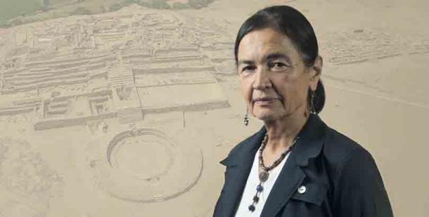 La eminente arqueóloga peruana Ruth Shady que ha sido amenazada por sus intentos de proteger el sitio Caral-Chupacigarro. (Zona Caral)