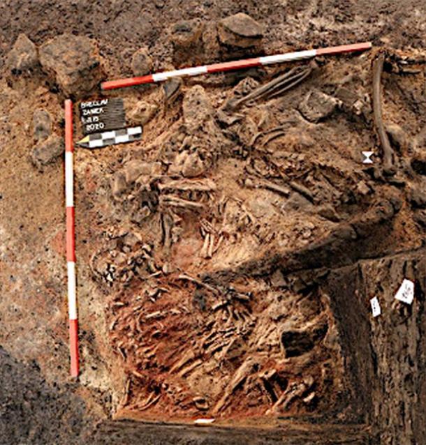Se encuentran restos de sacrificios humanos en el sur de Moravia, República Checa. (Archaia Brno)