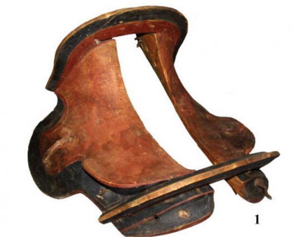 La silla de montar, que tenía alas, se describe como perfectamente conservada. (Nikolai Seregin / CC BY-SA 4.0)