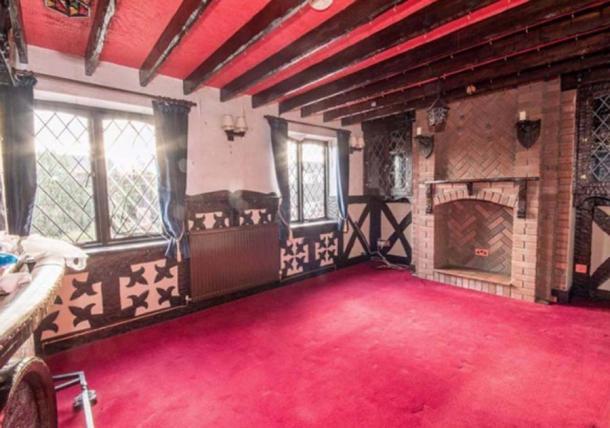 El salón de estilo medieval. Crédito: Cavendish Residential Ruthin / rightmove