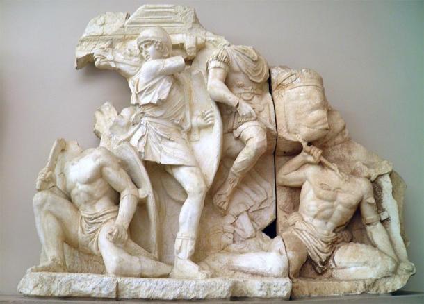 Escena de la guerra de Marco Aurelio y Lucio Vero contra los partos. (Carole Raddato / CC BY-SA 2.0)