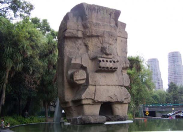 Escultura del dios azteca tlaloc en mexico. (Rene G EG / CC BY-SA 2.0)