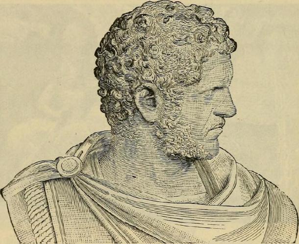 Severus Alexander fue emperador del Imperio Romano hasta el año 235 DC. (Imágenes de libros de Internet Archive / Public Domain)