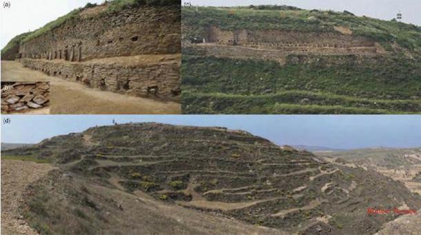 Pirámide escalonada de Shimao. (Zhouyong Sun y Jing Shao / Antigüedad)