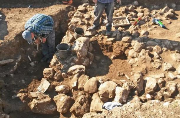 Excavaciones arqueológicas realizadas en el yacimiento del norte de Jerusalén. (Fotografía: Autoridad de Antigüedades de Israel)