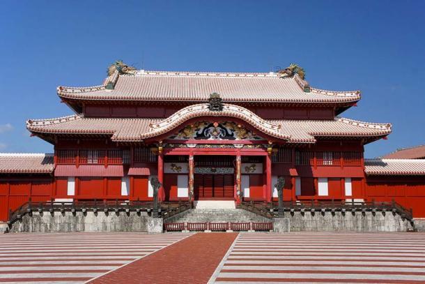 Castillo Shuri en Naha, Okinawa, Japón, 2011 (CC BY 2.5)