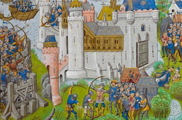 El asedio de Harfleur fue el preludio de la batalla de Agincourt. (Junta de la Biblioteca Británica / Dominio Público)