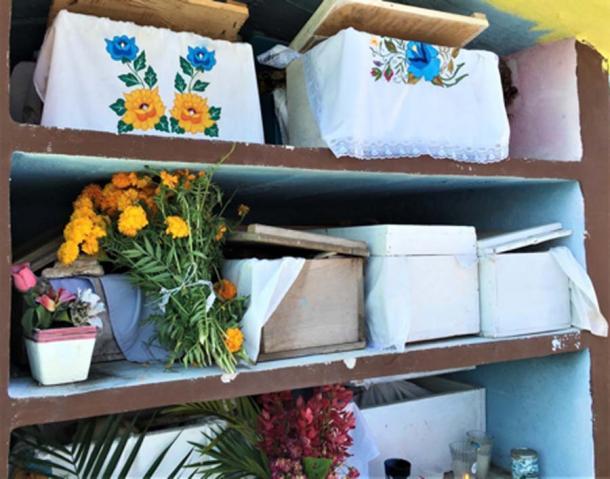 Los ancestros siguen siendo las cajas. (© georgefery.com)