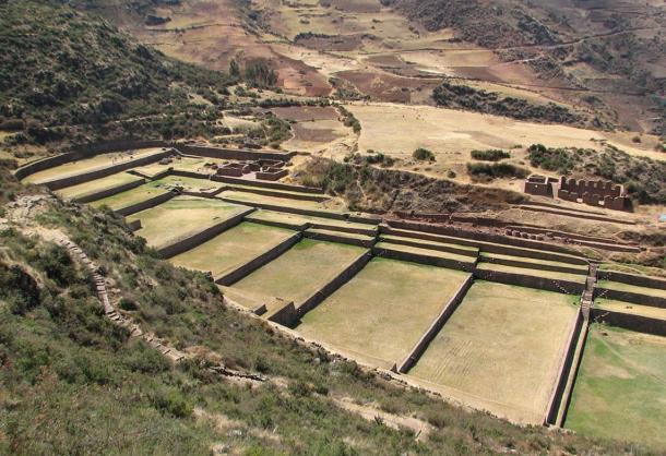 El sitio espectacular de Tipón, Perú