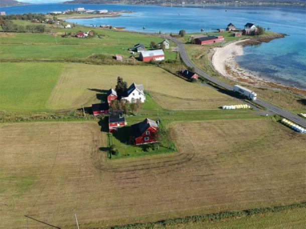 Tor-Kjetil Krokmyrdal se inspiró en el nombre de Sandtorg Farm, cerca de Tjelsund, en el norte de Noruega. (Tor-Kjetil Krokmyrdal)
