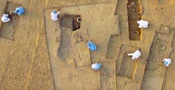 Sitio arqueológico de Rakhigarhi, India. (Orígenes homéricos / YouTube)