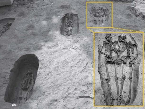 Algunos sugieren que los esqueletos, que tenían una edad similar, podrían estar relacionados, como hermanos o primos. (Nature)
