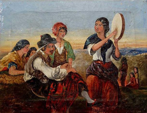 'Gitanos españoles'. Fuente: dominio público