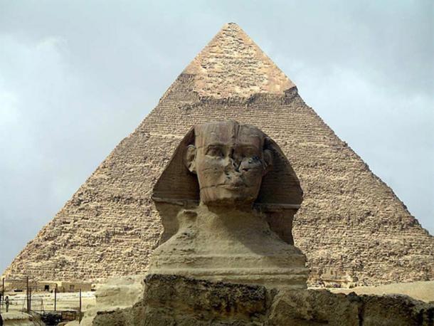 La esfinge de Giza (CC BY-SA 2.0)
