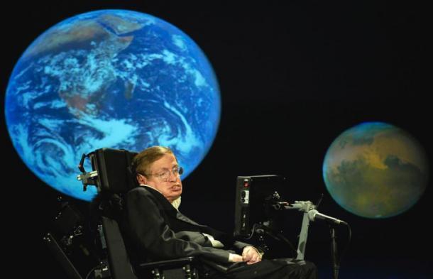 Stephen Hawking NASA 50th. (Foto de la sede de la NASA)