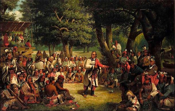 El estudio de los sitios iroqueses también plantea preguntas sobre la datación de conflictos. (Botaurus / Dominio público)