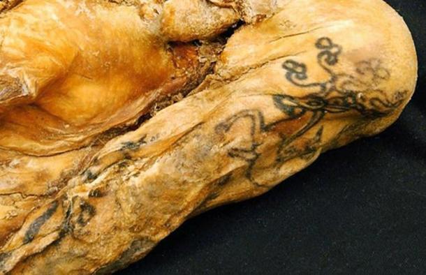 La Princesa de Ukok tiene los tatuajes antiguos mejor conservados. Crédito: Newscom