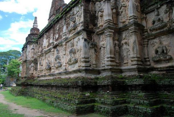 Templo de Wat Chet Yot, Chiang Mai, Tailandia