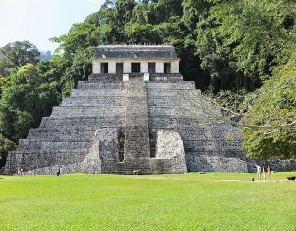 Templo de las inscripciones en palenque. (Christopher Evans / Autor suministrado)