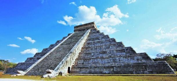 La pirámide del templo. (George Fery)