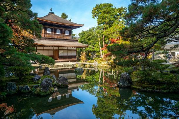 Templo del Pabellón de Plata en Kyoto, Japón, que fue construido por Yoshimasa del Shogunato Ashikaga. (Richie Chan/ Adobe)