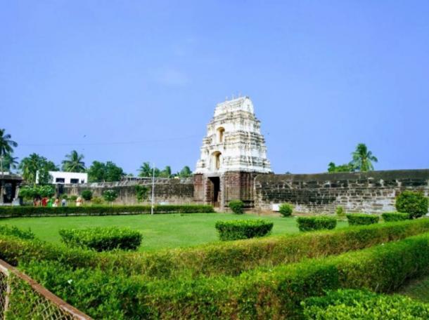 Templo de Draksharama (Foto de los templos hindúes de la India )