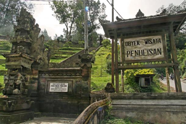 Templo Pura Puncak Penulisan en la isla calavera, Trunyan, Bali. (Patrick Chabert / CC BY-SA 2.0)