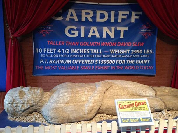 El gigante de Cardiff en el Museo de agricultores en Cooperstown. (Opencooper / CC BY-SA 2.0)