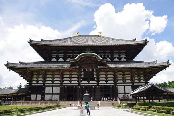 El Salón Dorado del Templo Todaiji en Nara, Japón. (Jakubhal / CC BY-SA 4.0)