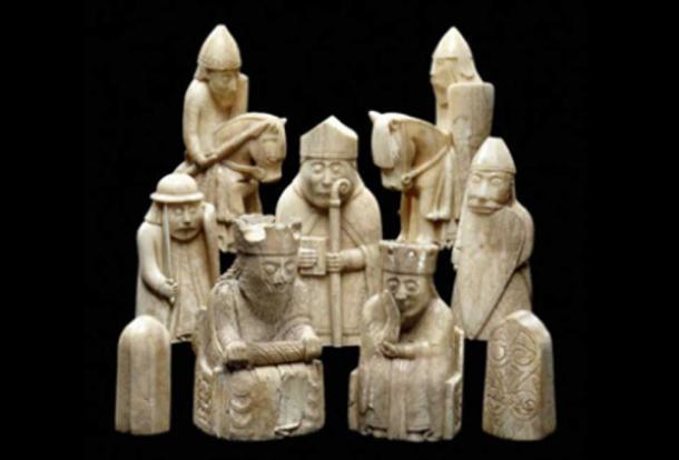 Las piezas de ajedrez de Lewis ( Ninox / Flickr )