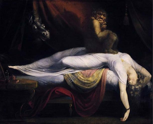 La pesadilla. John Henry Fuseli (1781) (dominio público)
