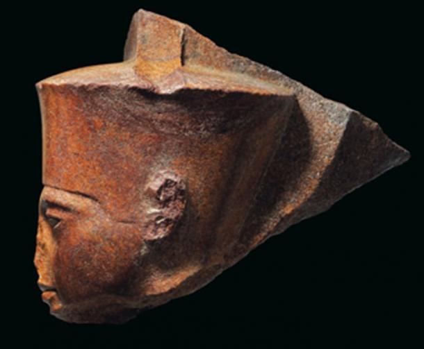 El origen de la estatua del rey Tut todavía está en disputa. (Christie's)