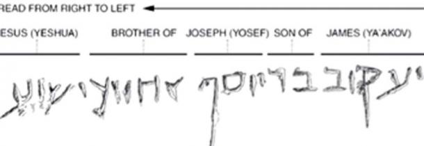 El osario de Santiago y su inscripción se consideraron auténticos. (syyenergy7 / captura de pantalla de YouTube)