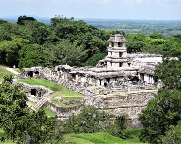 El palacio de palenque. (© georgefery.com / Autor suministrado)