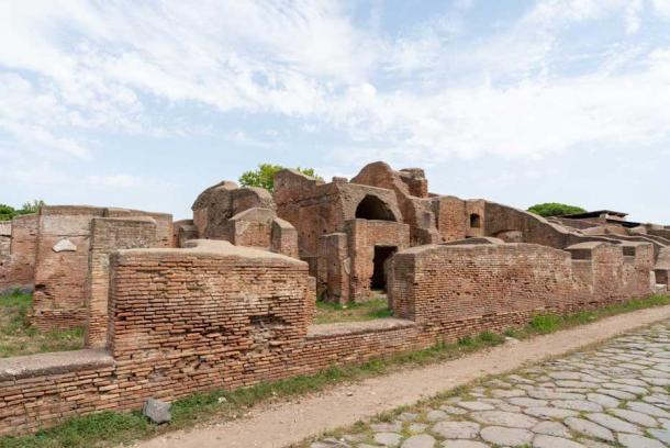La vía romana a Ostia Antica comenzaba en el Tíber. (Ioannis Syrigos)