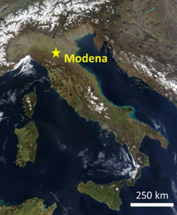 Los esqueletos fueron descubiertos en Módena, Italia. (Nature)