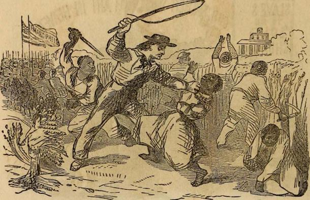 La Biblia de esclavos fue editada para mejorar la producción desarrollar la sumisión y para el control mental. (Imagen de libro de archivo de Internet / Dominio público)